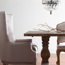 Contemporary Dining Room by Marco Polo Imports