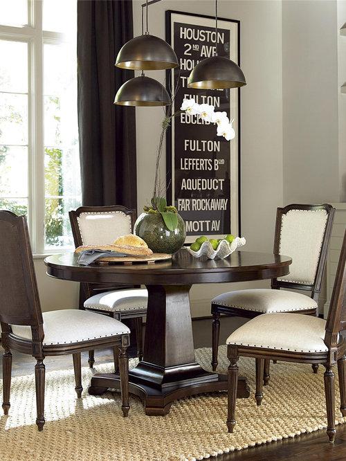 pecan wood dining room design ideas remodels photos