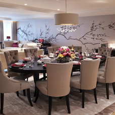 Contemporary Dining Room by Fromental