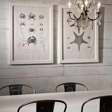 Eclectic Dining Room by Sam Van Fleet Photography