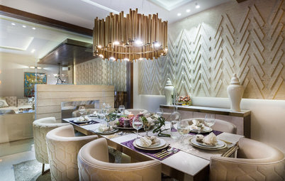 Houzz Tour: A Delhi Home Dials Up on Luxury