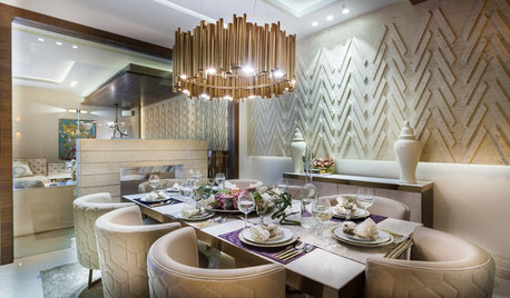 14 Chandelier, Dining Table & Chairs Combos That Stole Our Heart
