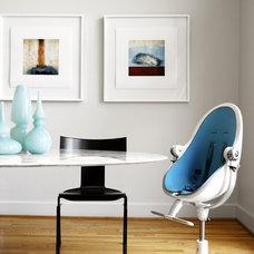 Contemporary Dining Room by Carolina V. Gentry, RID