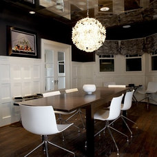 Contemporary Dining Room by Carolina V. Gentry, RID
