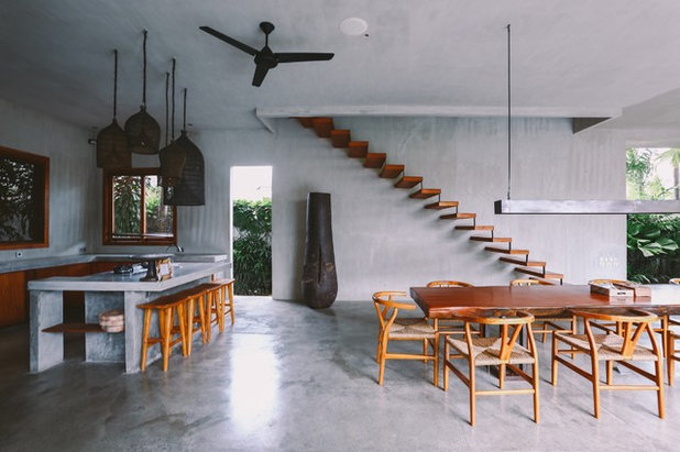 Resort Dining Room by Marcus Lim