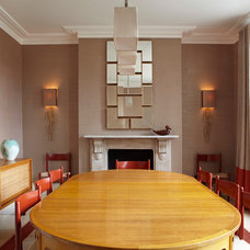 Contemporary Dining Room by Sigmar
