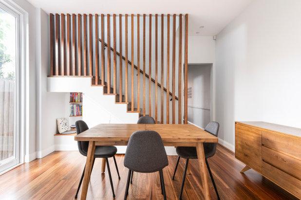 Contemporary Dining Room by Amrish Maharaj Architect