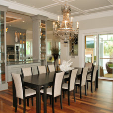 Tropical Dining Room by Crosby Creations Drafting & Design Services, LLC