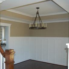 Traditional Dining Room by Quaker Custom Homes, LLC