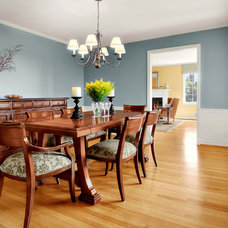 Traditional Dining Room by knowles ps