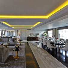 Contemporary Dining Room by Prodec London ltd