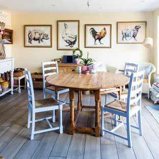 Design ideas for a rural dining room in Other.