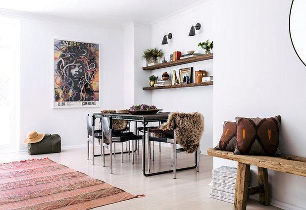 Scandinavian Dining Room by Jillian Dinkel Designs