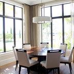 Sky Loft Thin Brick Interior Contemporary Dining Room