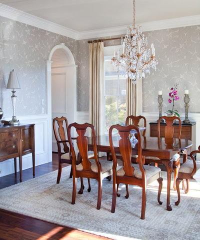 Traditional Dining Room by Max Crosby Construction