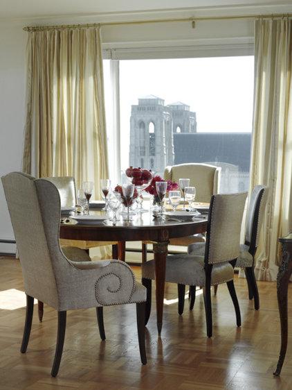 Contemporary Dining Room by Melanie Coddington