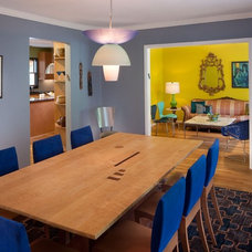 Eclectic Dining Room by Dsquared Creative Design Solutions