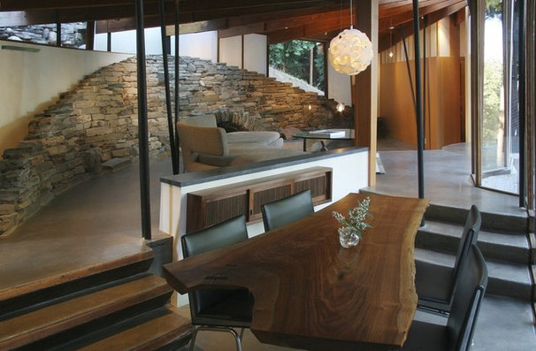 Contemporary Dining Room by DWYER DESIGN