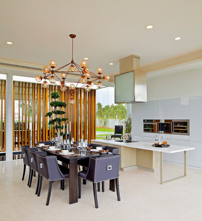 Contemporary Dining Room by Shamanth Patil Photography