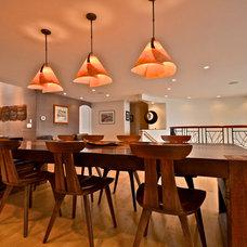 Contemporary Dining Room by Brett Marlo Designs
