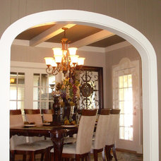 Traditional Dining Room by Interiors with Attitude, LLC