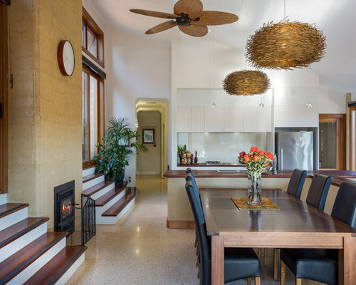 Large KitchenDining Combo Design Ideas Renovations amp Photos : fb61ffa204c6b6db9319 w500 h400 b0 p0 contemporary dining room from www.houzz.com.au size 500 x 400 jpeg 36kB
