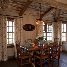 Traditional Dining Room by Rachel Mast Design