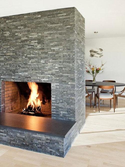 Quartz Fireplace Houzz