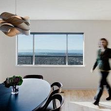 Modern Dining Room by Koch Architects, Inc.  Joanne Koch