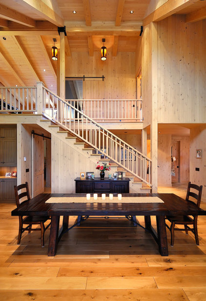 Traditional Dining Room by Koch Architects, Inc.  Joanne Koch