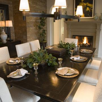 Rancho Santa Fe - Formal Dining Room