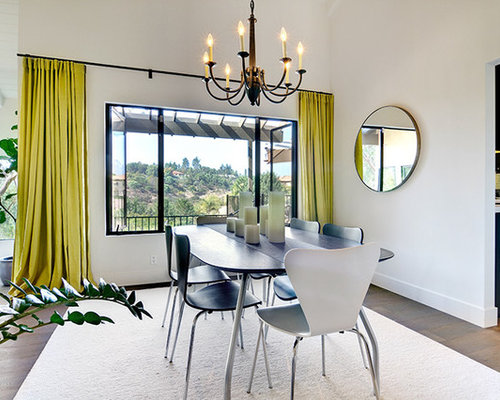 Contemporary Dining Room Idea In San Diego