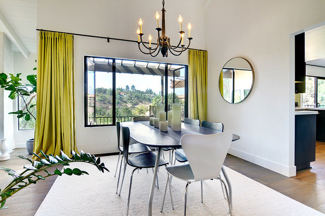 Contemporary Dining Room by Shaw Coates