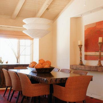 Rancho Valencia - Southwest Contemporary Style