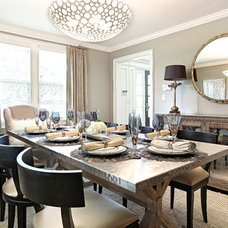 Contemporary Dining Room by D.A.S. Custom Builders