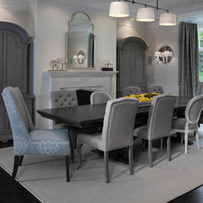 Contemporary Dining Room by Mars Photo and Design