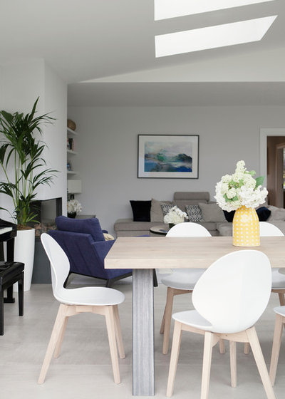 Scandinavian Dining Room by Optimise Home