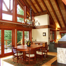 Traditional Dining Room by Nigel Walker and Associates Inc
