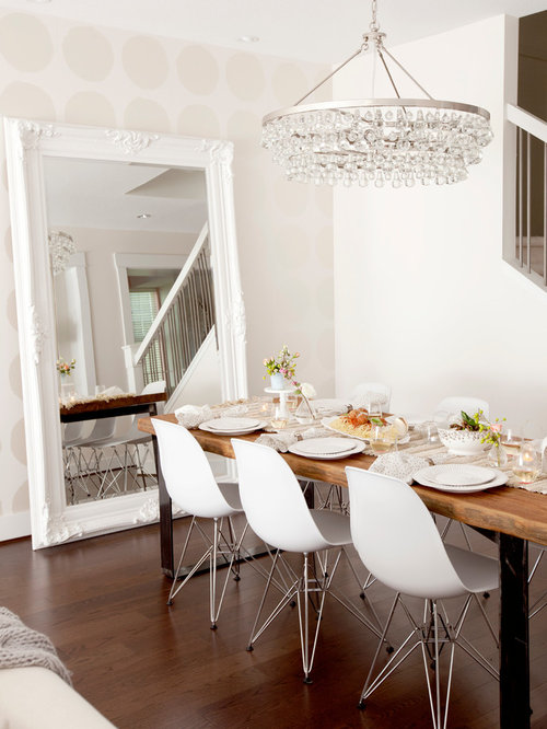 Sophie Mirrored Dining Table | Houzz