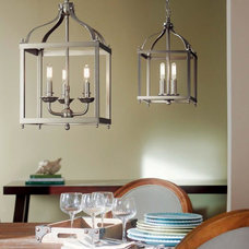 Farmhouse Dining Room by RE-Lighting