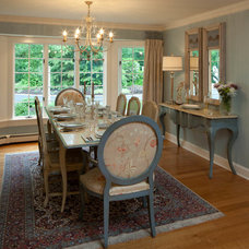 Traditional Dining Room by Lisa Teague Design Studios