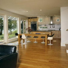 Modern Dining Room by r.e.a.l.  ronald evitts architect llc
