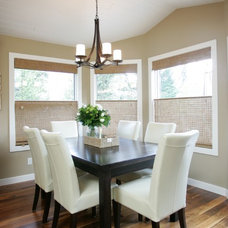 Contemporary Dining Room by MK Design Group Inc.