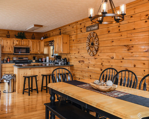 Rustic Dining Room Design Ideas, Remodels & Photos