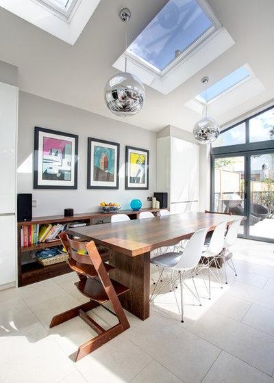 Contemporary Dining Room by Landmark Lofts