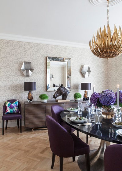Fusion Dining Room by Emma Lewis Photography