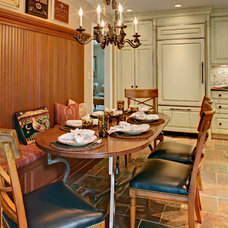 Traditional Dining Room by Oakleigh Interiors