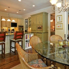 Contemporary Dining Room by De` Humphries, Allied Member ASID
