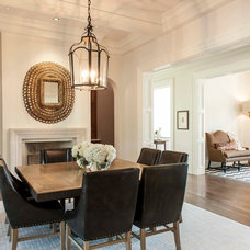 Traditional Dining Room by Shannon Connor / Maison, LLC.