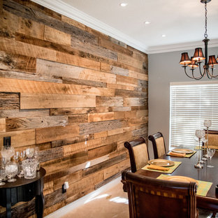 Reclaimed Barn Wood Accent Walls